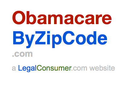 Obamacare Info for Your State & ZipCode