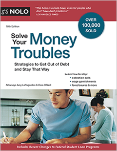 Solve Your Money TroublesStrategies to Get Out of Debt and Stay That Way